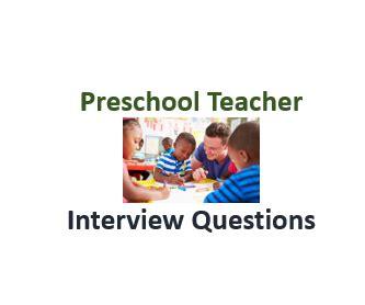 Resume of a preschool teacher